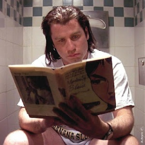 Vincent Vega's Bathroom Reading